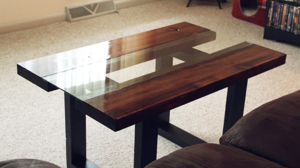How to Attach Wooden Legs to Glass Table Top?