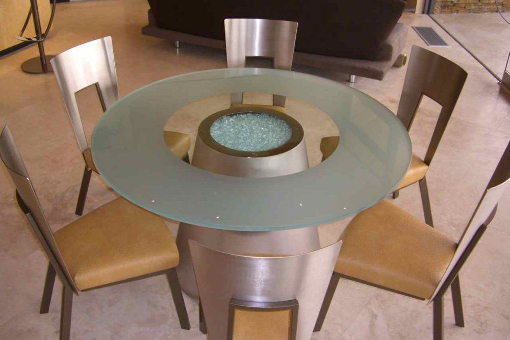 How to Frost Glass Table Top?