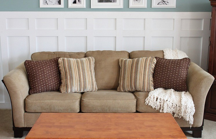 How to Keep Sofa Back Cushions in Place?