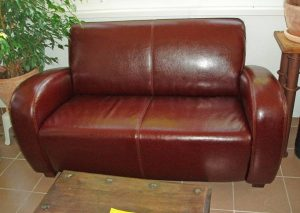 Why is my Leather Sofa Sticky?