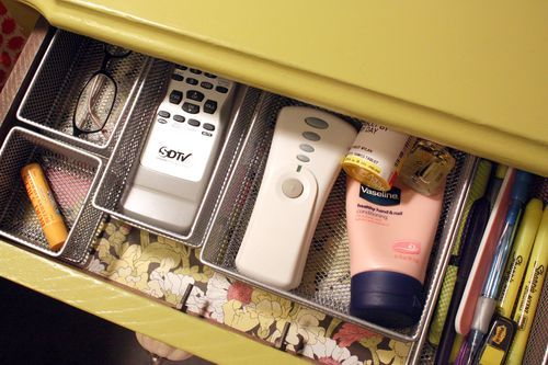 How to Organize Nightstand Drawers?