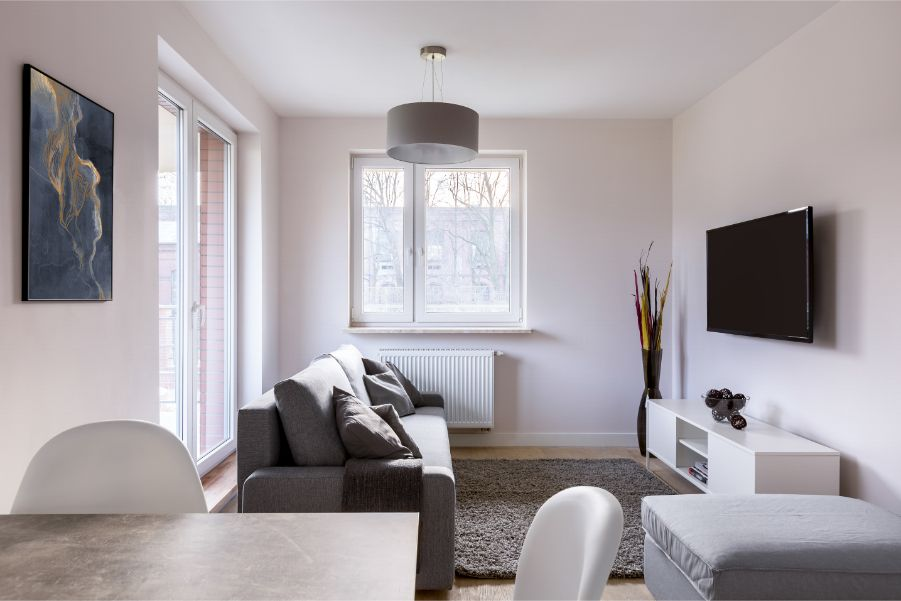 How to Make a Narrow Room Look Wider With Paint?