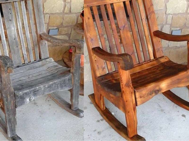 Can You Sandblast Wooden Chairs?