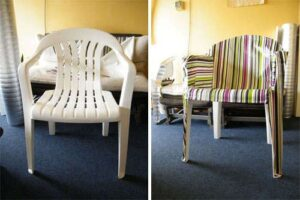 Can You Upholster a Plastic Chair?