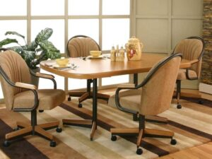 How to Add Casters to a Wooden Chair?