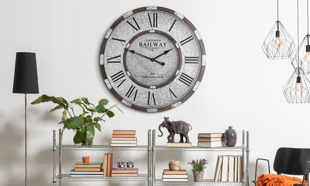 How to Decorate Around a Large Wall Clock?