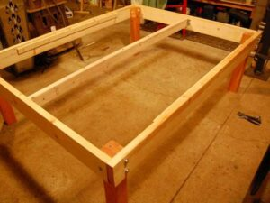 How to Make a Twin Bed Frame Out of 2x4?