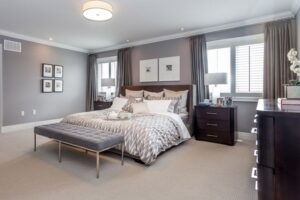What Color Furniture Goes With Gray Walls Bedroom?