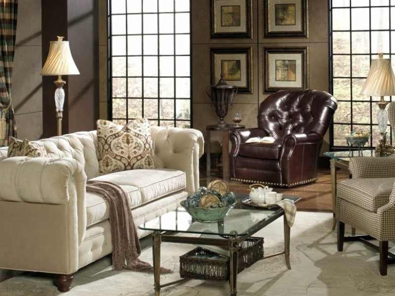 What to Pair With a Chesterfield Sofa?