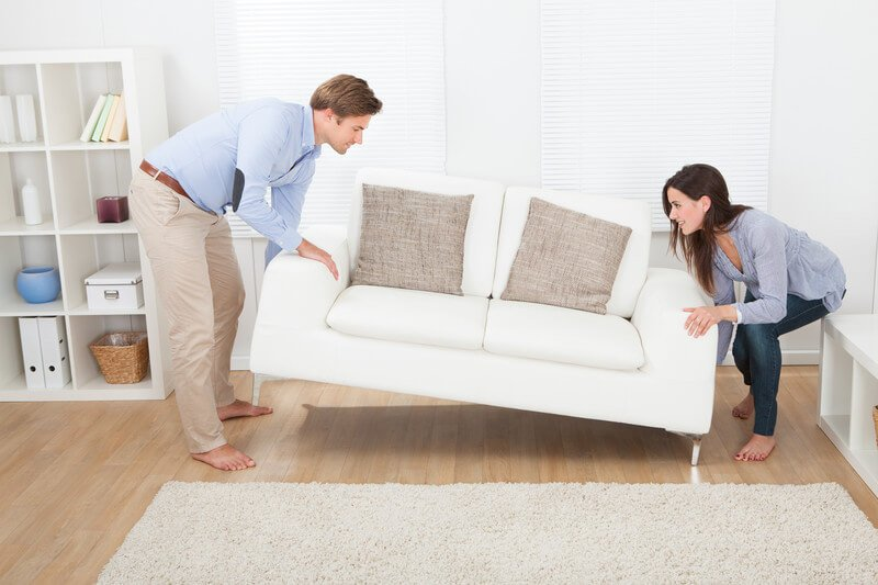 How to Move a Loveseat By Yourself?